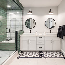 Ensuite – Pacesetter Homes' front garage showhome