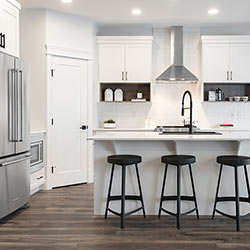 Kitchen – Pacesetter Homes' front garage showhome